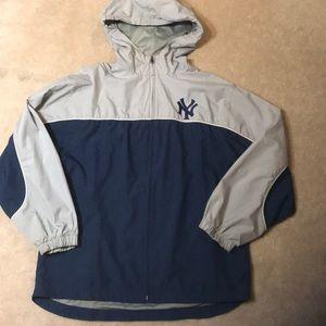 Throwback 90s Yankees windbreaker